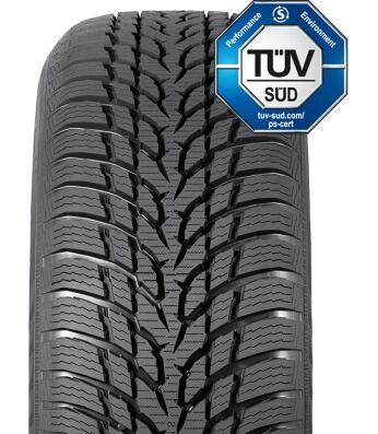 Nokian WR D3 M+S Winter Tire 225//45R17 91H